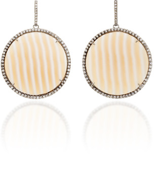 Kimberly McDonald One-Of-A-Kind Striped Chalcedony Discs