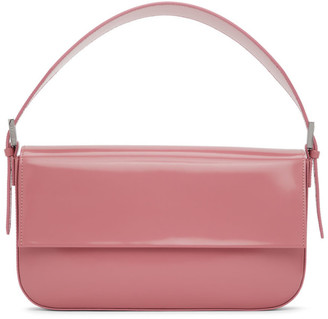 BY FAR Pink Patent Manu Bag