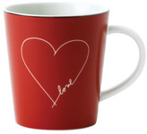 Royal Doulton ED Red Heart Mug