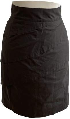 Fendi Brown Cotton Skirt for Women