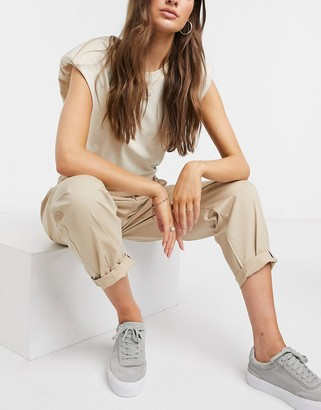 Vero Moda chino pants in tan
