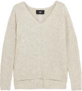 Line Rafferty cutout cotton-blend sweater