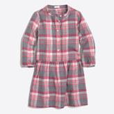 J.Crew Factory Girls' flannel shirtdress