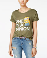 Hybrid Despicable Me Juniors' One In A Minion Graphic Tunic T-Shirt