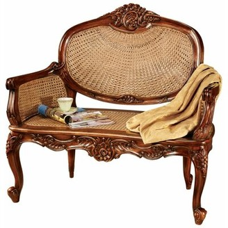 Toscano Design Chateau Marquee Wood Bench Design