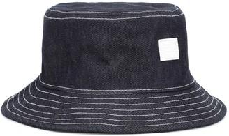 Acne Studios Face denim bucket hat