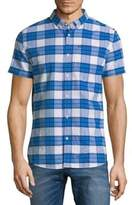 Superdry University Plaid Button-Down Shirt