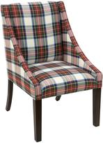 Swoop Dining Chair - Multi-Colored Plaid