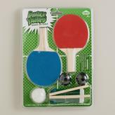 Cost Plus World Market Desktop Ping Pong Set