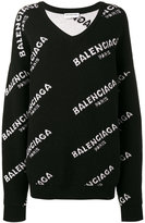 Balenciaga New logo sweater