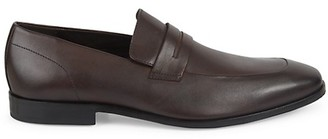 HUGO BOSS Highline Leather Penny Loafers