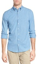 Gant Men's Tech Prep Chambray Fitted Sport Shirt