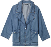 Forever 21 Statement Making Chambray Jacket