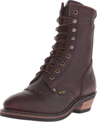 "AdTec Women's 8"" Packer Chestnut-W Boot 9 B(M) US"