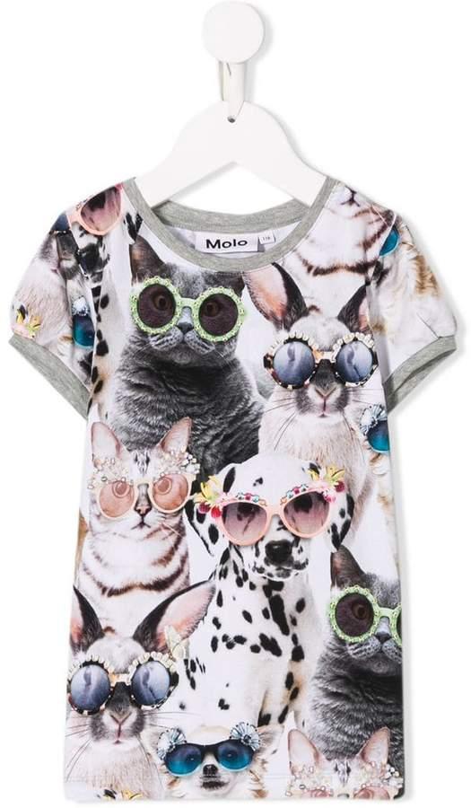 Molo Sunny funny animals T-shirt