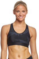 Under Armour Women's Armour Mid Printed Sports Bra 8161602