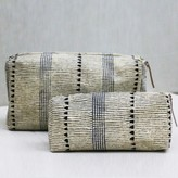 Graham and Green Mens Stripe Wash Bags