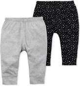 Carter's 2-Pk. Cotton Jogger Pants, Baby Girls