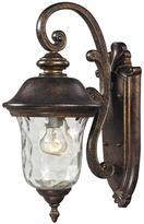 Lafayette Titan Lighting 1-Light Regal Bronze Outdoor Sconce