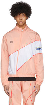 Martine Rose SSENSE Exclusive Pink Twist Track Jacket