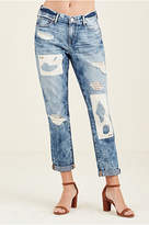 True Religion Cameron Boyfriend Womens Jean