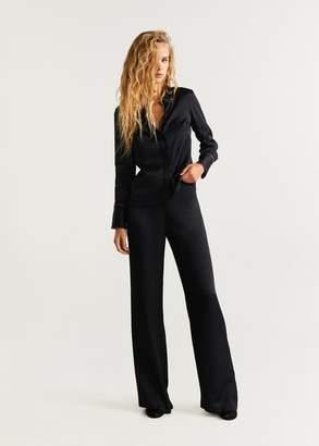 MANGO Metallic appliquA shirt black - 2 - Women