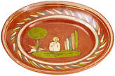 One Kings Lane Vintage 1920s Mexican Art Pottery Platter