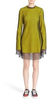Marques Almeida Women's Marques'Almeida Long Sleeve Mesh Minidress