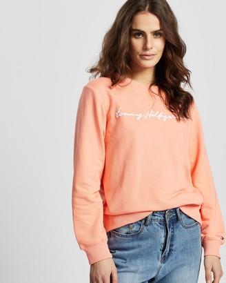 Tommy Hilfiger Annie Relaxed Crew LS Sweatshirt