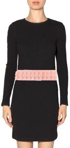 Burberry Floral Appliqué PVC Belt