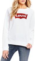 Levi's s The Classic Crew Logo Sweatshirt