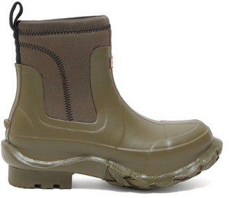 Stella McCartney X Hunter Rubber Rain Boots - Womens - Khaki