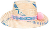 Yosuzi Pink and Blue Marea hat - women - Straw - One Size