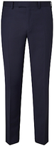 John Lewis Wool Jacquard Tailored Fit Dress Suit Trousers