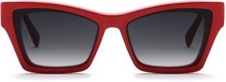 Cat Eye Rockbird Red Cateye Sunglasses