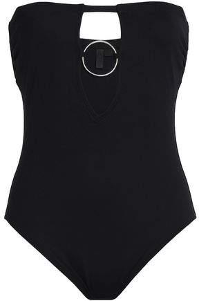 38b2b3681399d9 Black Strapless Swimsuit - ShopStyle