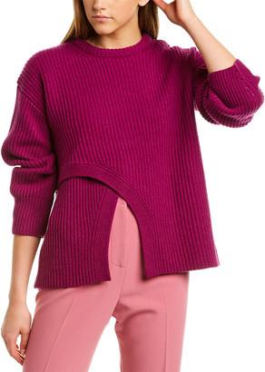 Derek Lam Criss-Cross Cashmere Sweater