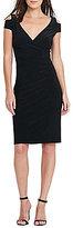 Lauren Ralph Lauren Cutout-Shoulder Jersey Dress