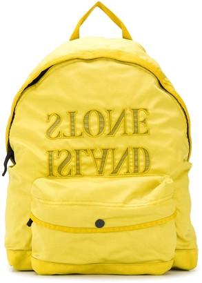 Stone Island Junior Branded Backpack