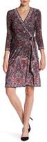 BCBGMAXAZRIA Adele Knit Wrap Dress