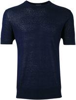 Ballantyne Maglia T-shirt - men - Silk/Linen/Flax - 46