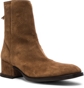 Givenchy Show Ankle Suede Boots