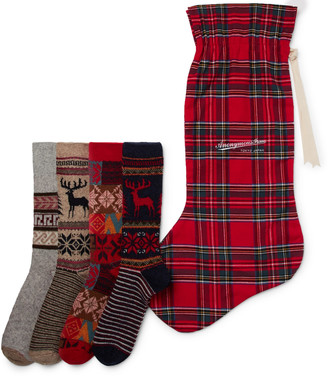 Anonymous Ism - 12-Pack Knitted Socks and Stocking Gift Set - Men - Red