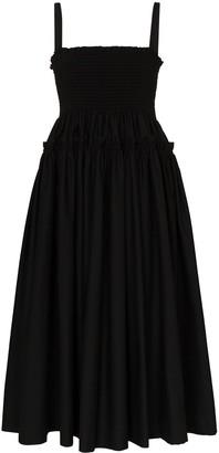 Molly Goddard Marlinene pleated midi dress