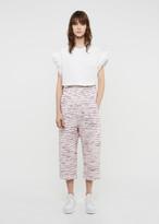 Julien David Light Tweed Cotton Pant
