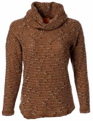 Ruby Rd. Women's Petite Size Long Sleeve Cowl Neck Sweater
