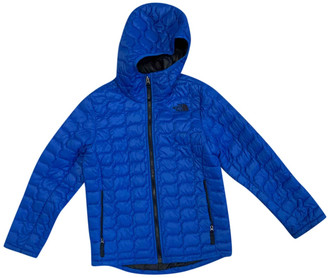The North Face Blue Polyester Jackets & Coats