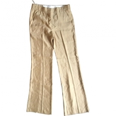 Prada Brown Viscose Trousers