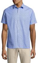 Toscano Spread Collar Cotton Sportshirt