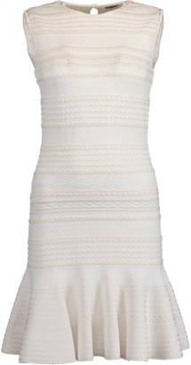 Alexander McQueen Knit Jacquard Dress